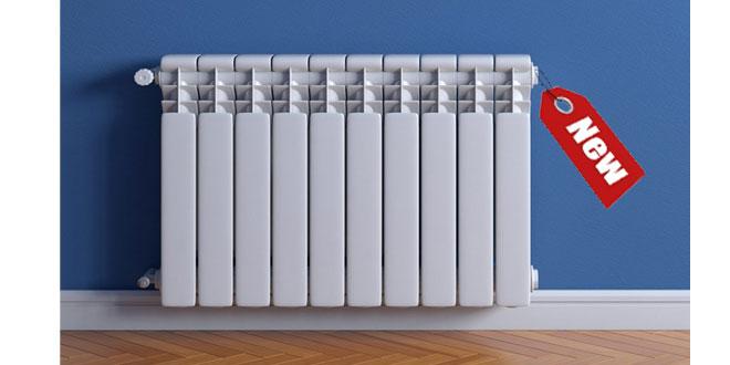 جدیدترین مدل های رادیاتور گرمایشی
